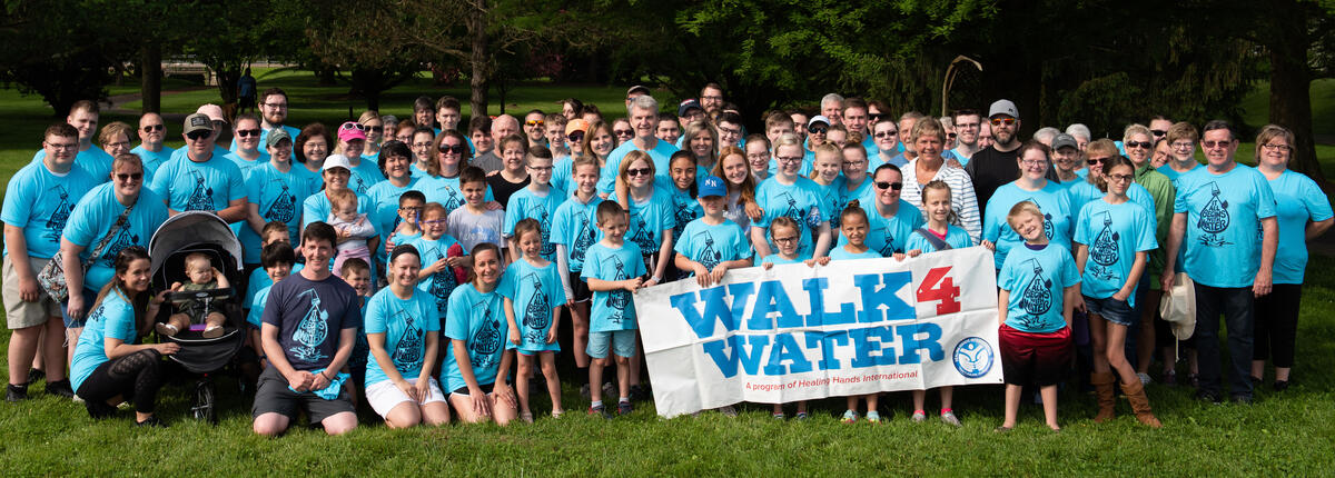 Walk4Water Group Photo- Heath, Ohio