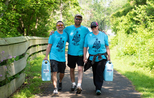 Walk4Water Photo- Heath, Ohio
