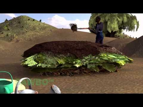 Survival Gardening: How to Create Compost in English (accent from USA) 3D HHI